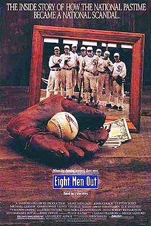 8 men out
